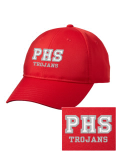 Parkland High School Trojans Embroidered adidas Performance Max Front Cap