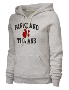 Parkland High School Trojans Alternative Women's Athletics Hooded Sweatshirt