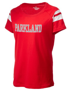 Parkland High School Trojans Holloway Women's Tribute T-Shirt