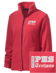 Parkland High School Trojans Embroidered Women's Wintercept Fleece Full-Zip Jacket