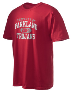 Parkland High School Trojans Men's Ultra Cotton T-Shirt