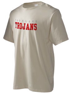 Parkland High School Trojans Men's Organic T-Shirt