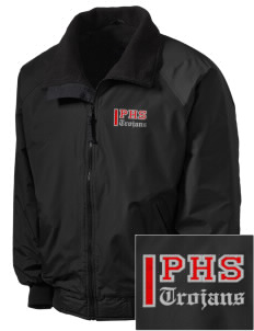 Parkland High School Trojans Embroidered Tall Men's Challenger Jacket