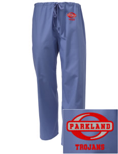 Parkland High School Trojans Embroidered Scrub Pants