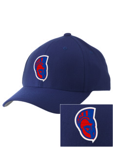 Greater Nanticoke Area High School Trojans Embroidered Pro Model Fitted Cap
