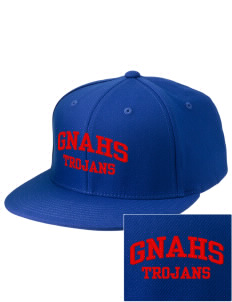 Greater Nanticoke Area High School Trojans Embroidered Diamond Series Fitted Cap