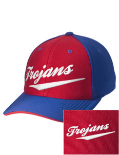 Greater Nanticoke Area High School Trojans Embroidered M2 Contrast Cap with Puffy 3D Designs