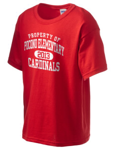 Pocono Elementary Center Cardinals Kid's 6.1 oz Ultra Cotton T-Shirt