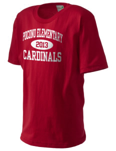 Pocono Elementary Center Cardinals Kid's Organic T-Shirt