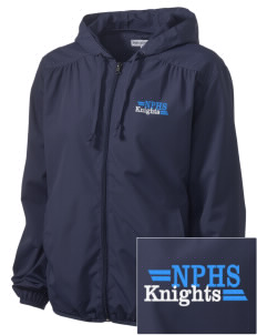North Penn High School Knights Embroidered Women's Hooded Essential Jacket