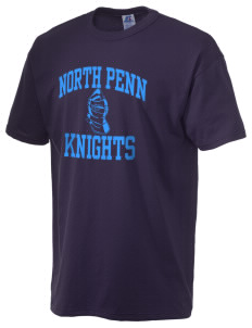 North Penn High School Knights  Russell Men's NuBlend T-Shirt