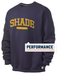 Shade Elementary School Panthers  Russell Men's Dri-Power Crewneck Sweatshirt