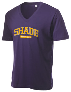 Shade Elementary School Panthers Alternative Men's 3.7 oz Basic V-Neck T-Shirt