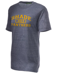 Shade Elementary School Panthers Embroidered Alternative Unisex Eco Heather T-Shirt