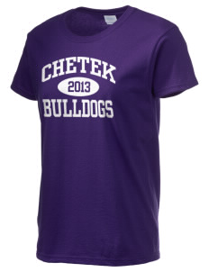 Chetek High School Bulldogs Women's 6.1 oz Ultra Cotton T-Shirt
