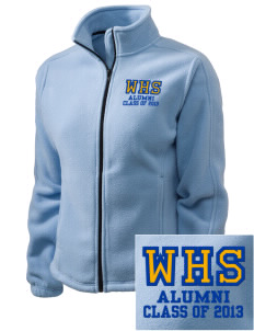 West High School Regents Embroidered Women's Fleece Full-Zip Jacket