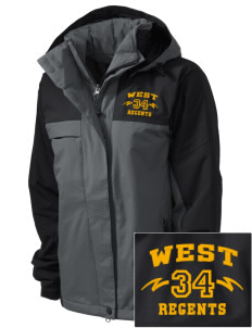 West High School Regents  Embroidered Women's Nootka Jacket