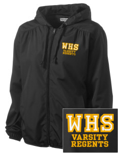 West High School Regents Embroidered Women's Hooded Essential Jacket