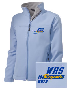 West High School Regents Embroidered Women's Soft Shell Jacket