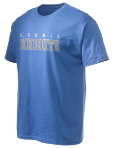 Koenig Elementary School Knights Hanes Men's 6 oz Tagless T-shirt