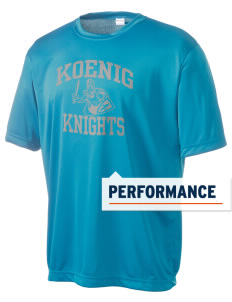 Koenig Elementary School Knights Men's Competitor Performance T-Shirt