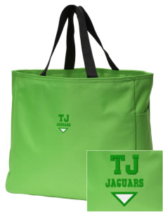 Thomas Jefferson Elementary School Jaguars Embroidered Essential Tote