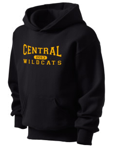 Central Middle School Wildcats Kid's Hooded Sweatshirt
