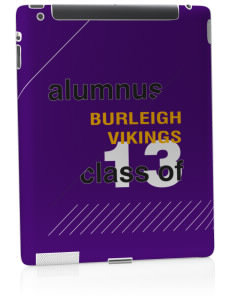 Burleigh Elementary School Vikings Apple iPad 2 Skin