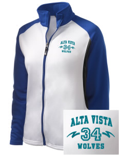 Alta Vista Elementary School Wolves Embroidered Holloway Women's Reaction Tri-Color Jacket