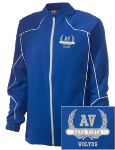 Alta Vista Elementary School Wolves Embroidered Russell Women's Full Zip Jacket