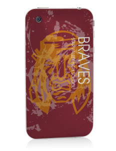 Star Valley High School Braves Apple iPhone 3G/ 3GS Skin