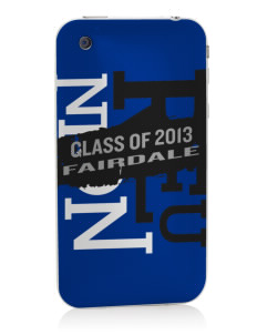 Fairdale Elementary School Falcons Apple iPhone 3G/ 3GS Skin