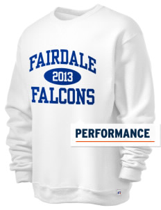Fairdale Elementary School Falcons  Russell Men's Dri-Power Crewneck Sweatshirt