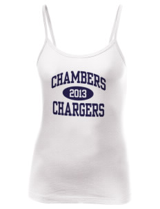 Chambers Elementary School Chargers Women's Louise Longer Length Tank