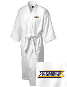 Chambers Elementary School Chargers Embroidered Terry Velour Robe