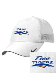 Tice Elementary School Tigers Embroidered Nike Golf Mesh Back Cap