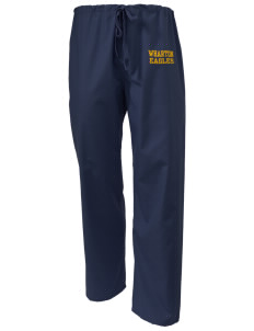 Wharton Elementary School Eagles Scrub Pants