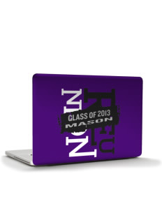 "Mason High School Punchers Apple MacBook Pro 15.4"" Skin"