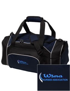 Washington State Nurses Association Embroidered Holloway Duffel Bag