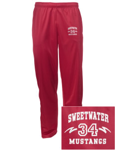 Sweetwater Intermediate School Mustangs Embroidered Men's Tricot Track Pants