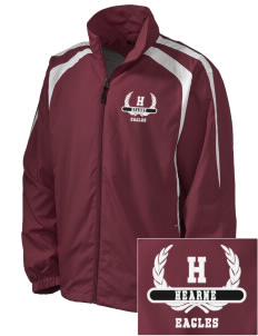 Hearne High School Eagles Embroidered Men's Colorblock Raglan Jacket
