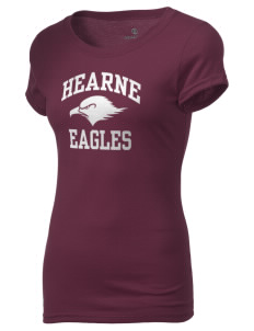 Hearne High School Eagles Holloway Women's Groove T-Shirt