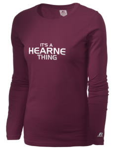 Hearne High School Eagles  Russell Women's Long Sleeve Campus T-Shirt