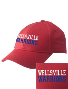 Wellsville Elementary School Warriors  Embroidered New Era Adjustable Structured Cap
