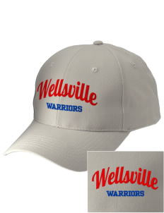 Wellsville Elementary School Warriors Embroidered Low-Profile Cap