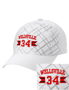 Wellsville Elementary School Warriors Embroidered Mixed Media Cap