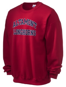Altamont High School Longhorns Ultra Blend 50/50 Crewneck Sweatshirt