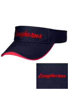 Altamont High School Longhorns Embroidered Binding Visor