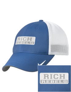 Rich High School Rebels Embroidered Nike Golf Mesh Back Cap