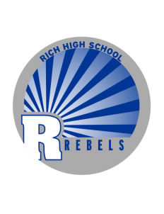 Rich High School Rebels Sticker